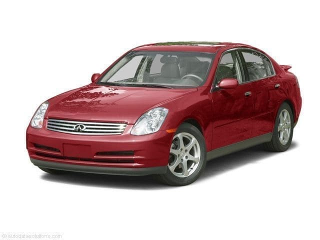 Photo Used 2003 INFINITI G35 Sedan For Sale in Asheville, NC