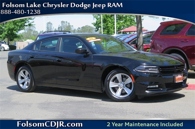 Photo 2018 Dodge Charger SXT Plus Sedan - Certified Used Car Dealer Serving Sacramento, Roseville, Rocklin  Citrus Heights CA