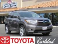 2015 Toyota Highlander Hybrid Limited SUV All-wheel Drive in Carlsbad