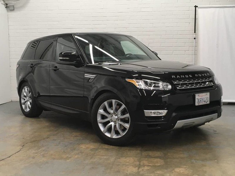 Photo Certified Pre-Owned 2015 Land Rover Range Rover Sport HSE Four Wheel Drive 4 Door SUV
