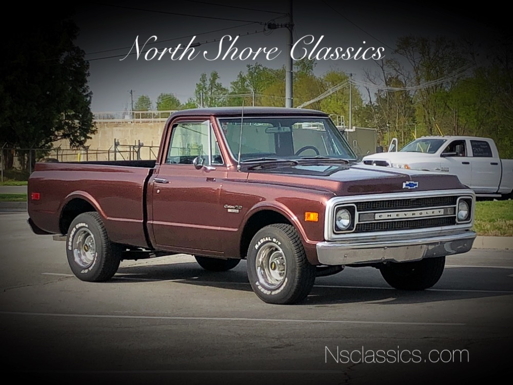 Photo 1970 Chevrolet Pickup C10-CUSTOM10-NEW PAINT-TENNESSEE RUST FREE SHORT BED TRUCK-