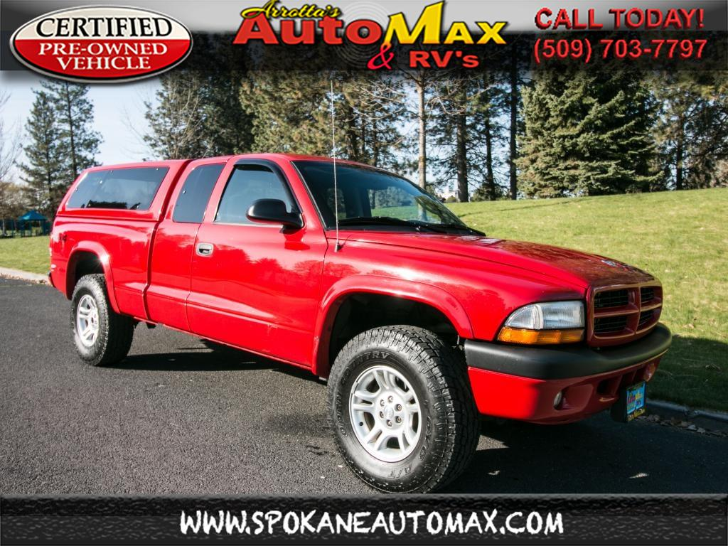Photo 2003 Dodge Dakota Sport 4x4 4.7L V8 Pickup Truck