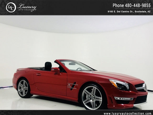 Photo 2013 Mercedes-Benz SL-Class SL63 AMG SL 63 AMG  Premium 1 Pkg  Drivers Assist  Pano Roof  Distronic  14 15 With Navigation