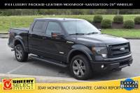 2014 Ford F-150 !ONE Owner FX4 Luxury-Moonroof-Navigation! Truck SuperCrew Cab V-8 cyl