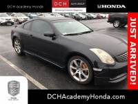 2004 INFINITI G35 COUPE w/Leather Coupe