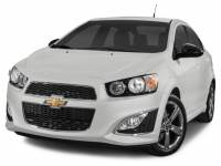 2015 Chevrolet Sonic RS Manual