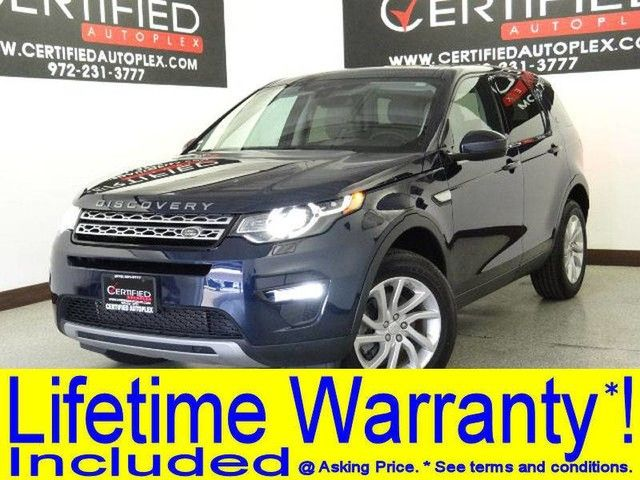 Photo 2016 Land Rover Discovery Sport HSE 4WD LANE DEPARTURE NAVIGATION PANORAMA LEATHER HEATEDCOOLED SEATS