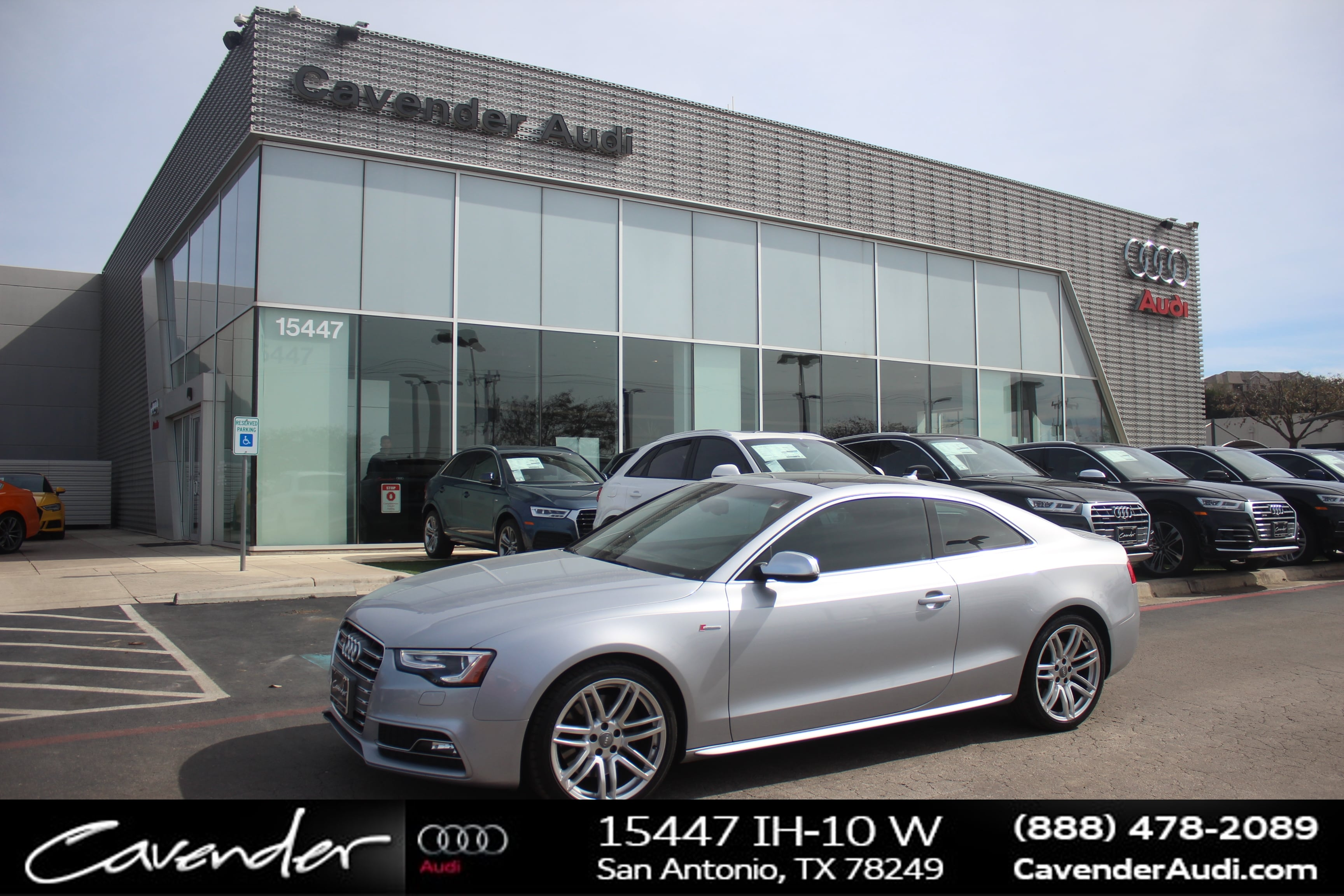 Photo 2015 Audi S5 Premium Plus Coupe  San Antonio, TX