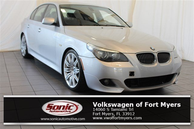 Photo Used 2008 BMW 5 Series 550i 4dr Sdn RWD in Fort Myers