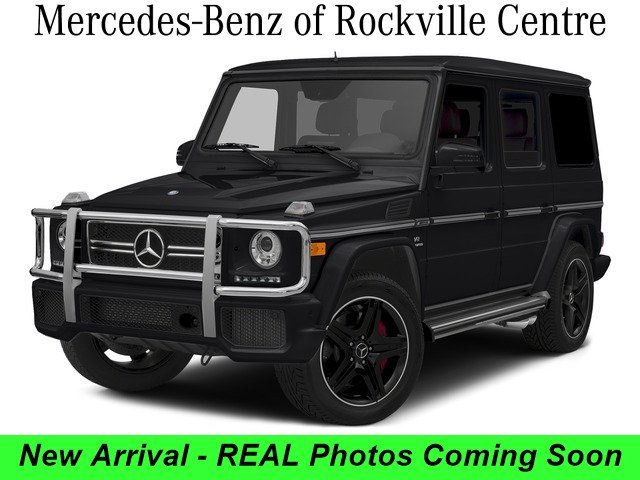 Photo Certified Pre-Owned - 2015 Mercedes-Benz G-Class AMG G 63 SUV 4MATIC SUV