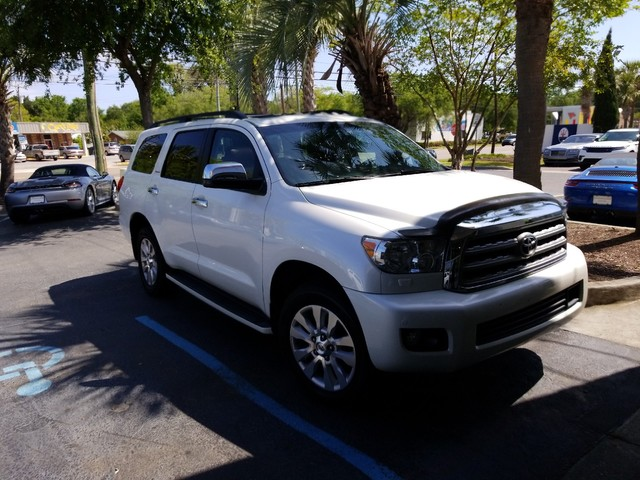 Photo Pre-Owned 2011 Toyota Sequoia Platinum Four Wheel Drive SUV