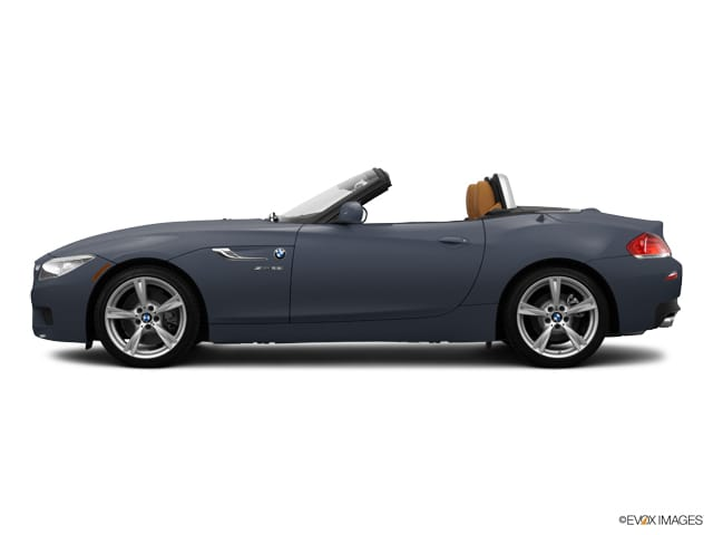 Photo 2014 Certified Used BMW Z4 Convertible sDrive35i Mineral Gray For Sale Manchester NH  Nashua  StockMP2473A