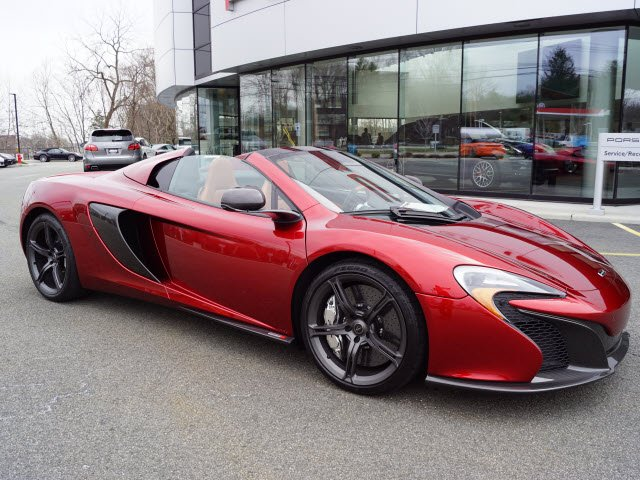 Photo Pre-Owned 2016 mclaren 650S Spider Base RWD 2D Coupe