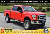 2017 Ford F-150 !Lifted Crew CAB 4X4 XLT! Truck SuperCrew Cab V-8 cyl