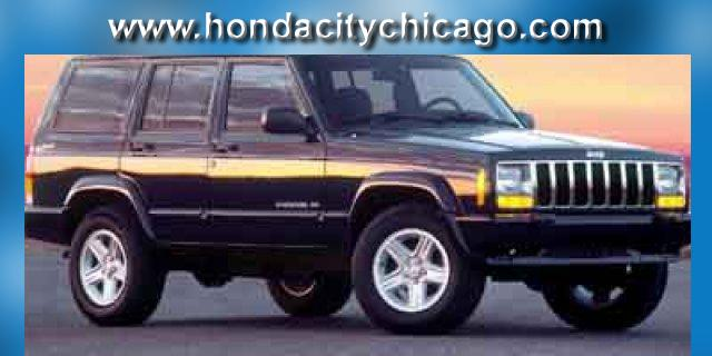 Photo Used 2000 Jeep Cherokee 4dr Sport 4WD For Sale Chicago, Illinois