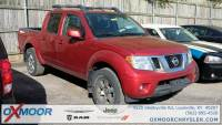 Pre-Owned 2013 Nissan Frontier PRO with Navigation & 4WD