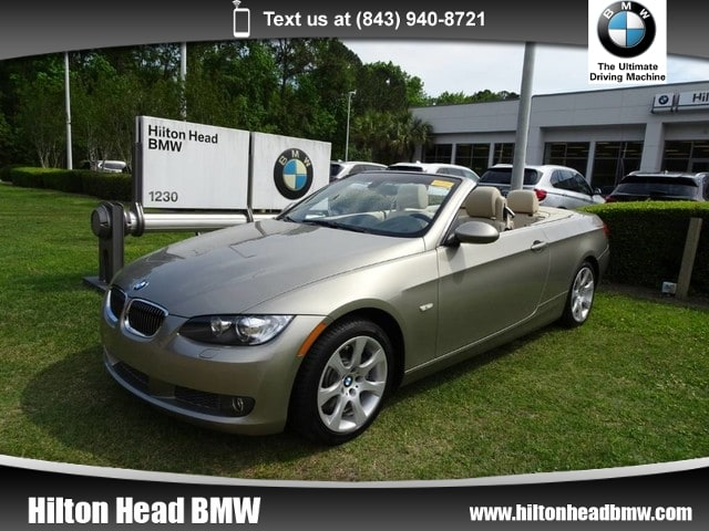 Photo 2008 BMW 335i Convertible 335i  One Owner  ONLY 32,000 MILES  Navig Convertible Rear-wheel Drive