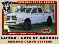 2013 Ram 2500 Crew Cab 4x4 - LIFTED - LOT$ OF EXTRA$!