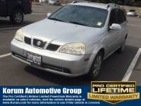 Used 2005 Suzuki Forenza S Wagon I-4 cyl for Sale in Puyallup near Tacoma