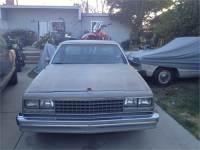 1982 Chevy el camino
