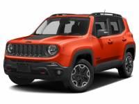 2017 Jeep Renegade Trailhawk 4x4 SUV I-4 cyl