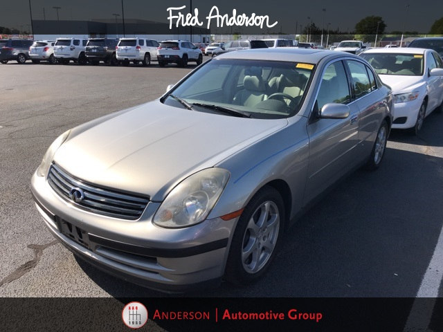 Photo Pre-Owned 2003 INFINITI G35 Luxury Sedan For Sale  Raleigh NC