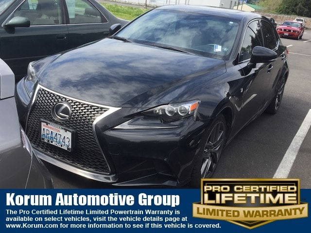 Photo Used 2014 LEXUS IS 250 Sedan V-6 cyl for Sale in Puyallup near Tacoma
