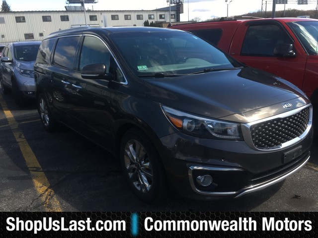 Photo Pre-Owned 2015 Kia Sedona SX-L Front Wheel Drive MinivanVan