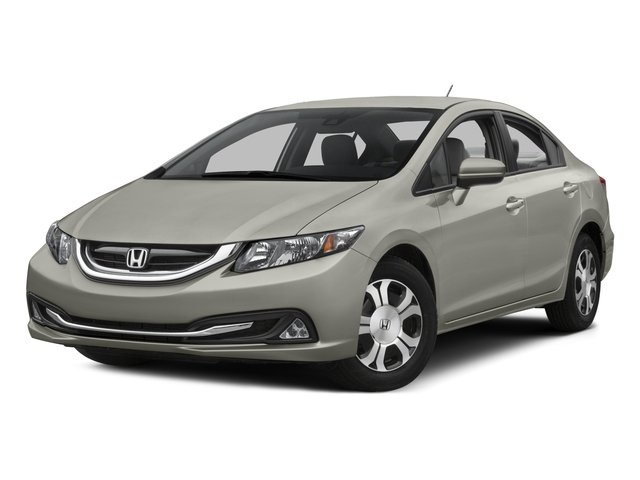 Photo Certified Pre-Owned 2015 Honda Civic Hybrid Front Wheel Drive 4dr Car