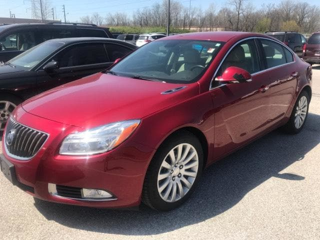 Photo 2012 Buick Regal 4dr Sdn Turbo Premium 1 Car For Sale  Greenwood IN