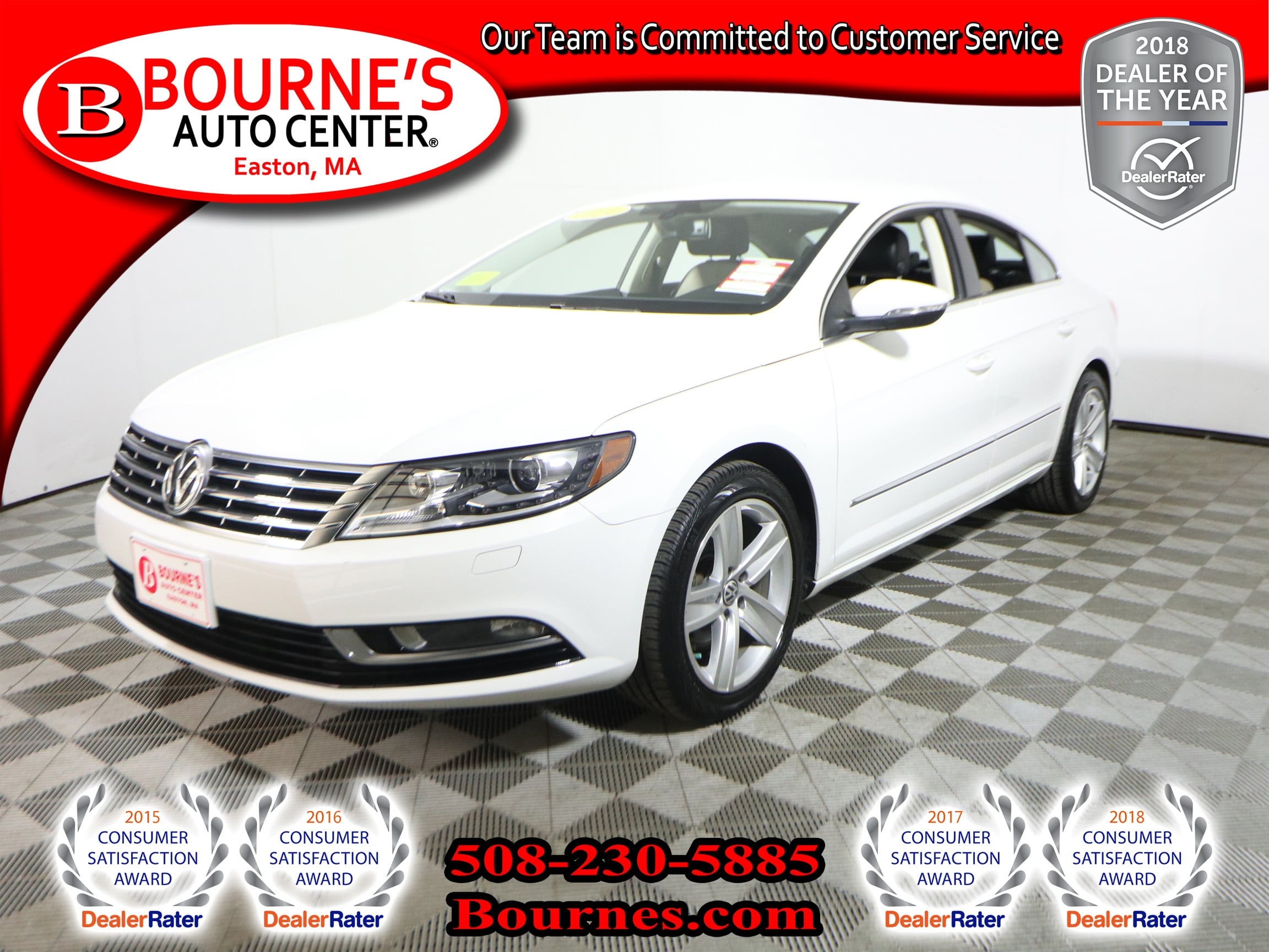 Photo 2014 Volkswagen CC 2.0T Sport PZEV w Navigation,Leather,Heated Front Seats, And Backup Camera.