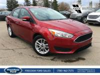 Used 2015 Ford Focus SE Cloth Seats, Backup Camera Front Wheel Drive 4 Door Car