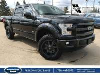 Used 2015 Ford F-150 Lariat Leather, Navigation, Sunroof Four Wheel Drive 4 Door Pickup