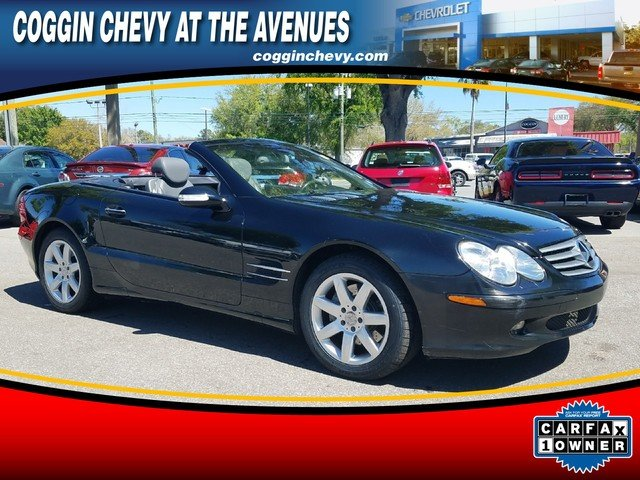 Photo Pre-Owned 2003 Mercedes-Benz SL-Class SL 500 Roadster in Jacksonville FL