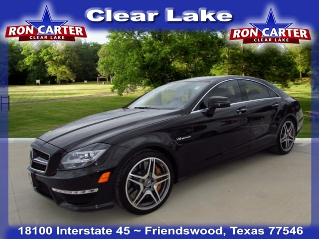 Photo 2014 Mercedes-Benz CLS 63 AMG S-Model Car near Houston