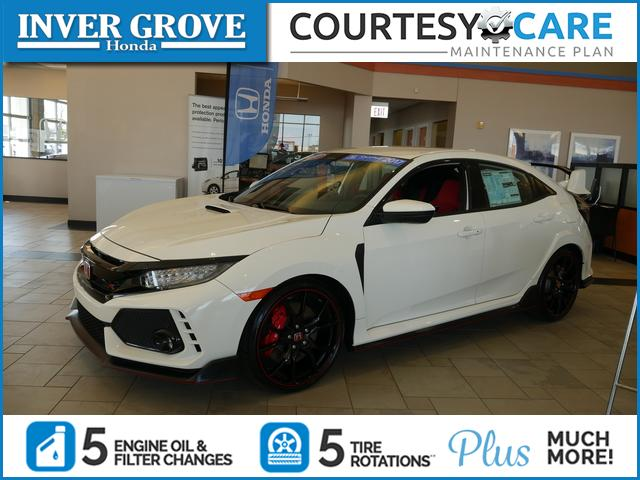 Photo Certified Pre-Owned 2017 Honda Civic Sedan Type R Touring
