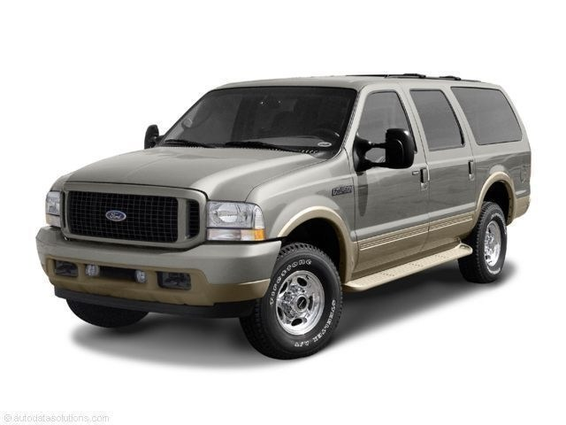Photo Used 2004 Ford Excursion XLT 137 WB 5.4L XLT 4WD for Sale in Waterloo IA