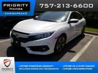 Certified 2016 Honda Civic EX-T Sedan in Chesapeake, VA