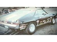 1968 AMX 390 4 SPEED CAR, BACK ...