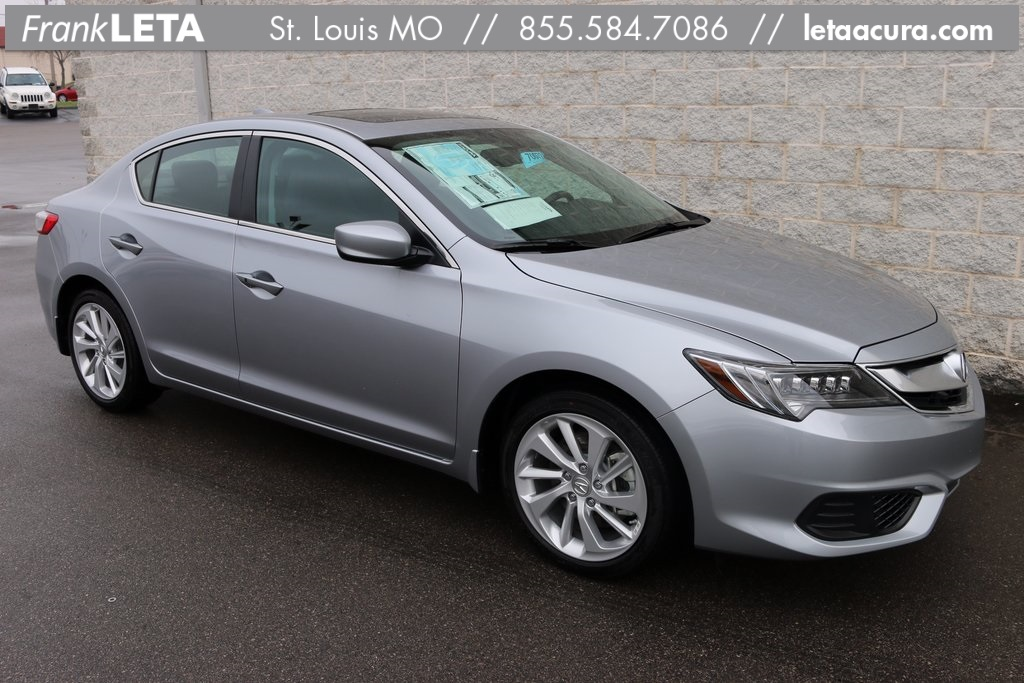 Photo Certified Pre-Owned 2017 Acura ILX Premium Package FWD 4D Sedan