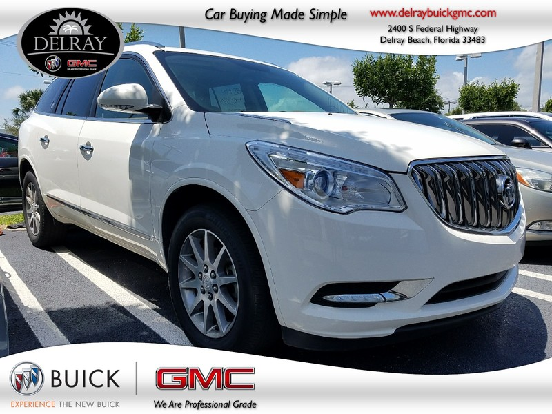 Photo Pre-Owned 2015 BUICK ENCLAVE LEATHER Front Wheel Drive Sport Utility Vehicle