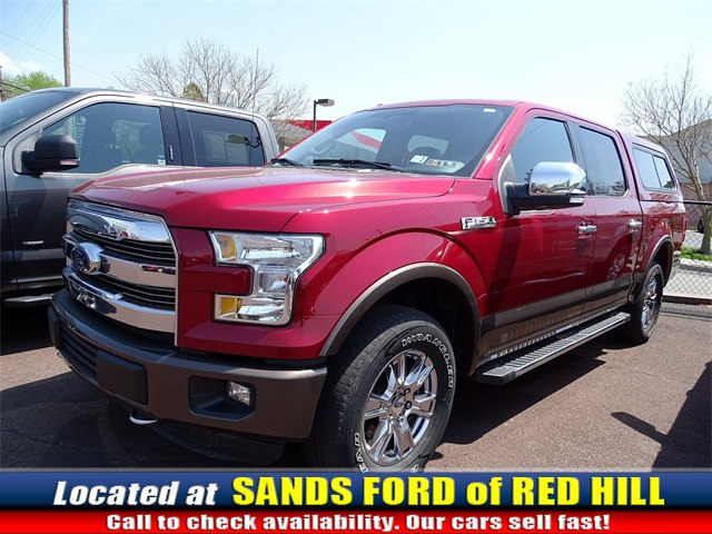 Photo Used 2015 Ford F-150 Lariat Truck V8 FFV in Red Hill, PA
