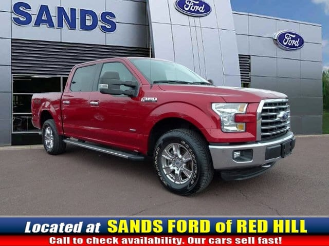 Photo Used 2015 Ford F-150 XLT Truck EcoBoost V6 GTDi DOHC 24V Twin Turbocharged in Red Hill, PA