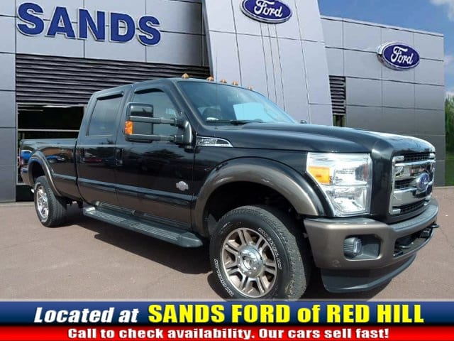Photo Used 2015 Ford F-250SD King Ranch Truck V8 EFI SOHC 16V Flex Fuel in Red Hill, PA