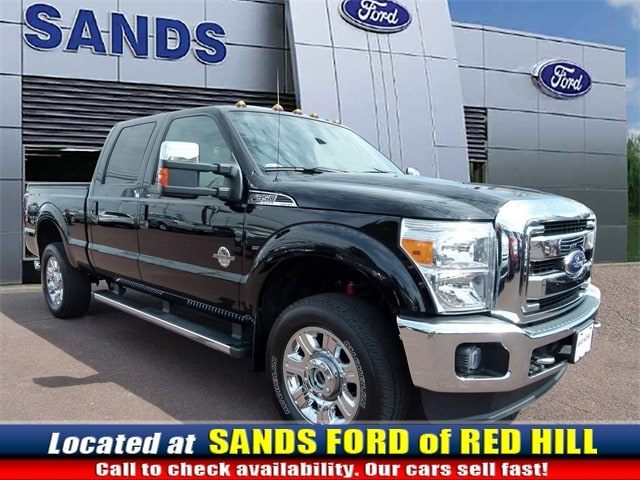 Photo Used 2016 Ford F-350SD Lariat Truck Power Stroke V8 DI 32V OHV Turbodiesel in Red Hill, PA