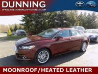 Used 2015 Ford Fusion SE For Sale In Ann Arbor