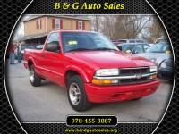2000 Chevrolet S10 Pickup LS Short Bed 2WD