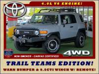 2013 Toyota FJ Cruiser 4WD Trail Team Editions - LOT$ OF EXTRA$!