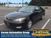 Used 2002 Toyota Camry Sedan I-4 cyl for Sale in Puyallup near Tacoma