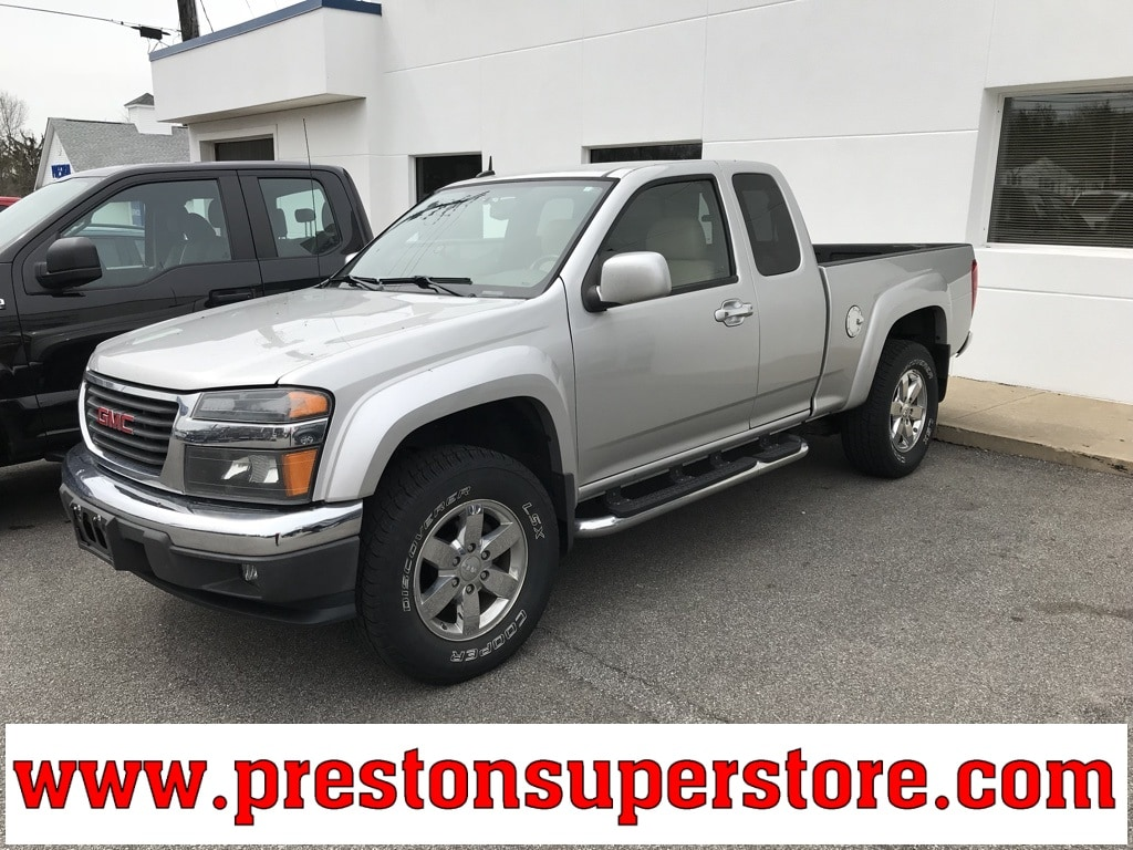 Photo Used 2010 GMC Canyon SLT Truck in Burton, OH
